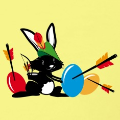 Easter-bunny-with-a-bow-and-arrow-T-Shirts.jpg
