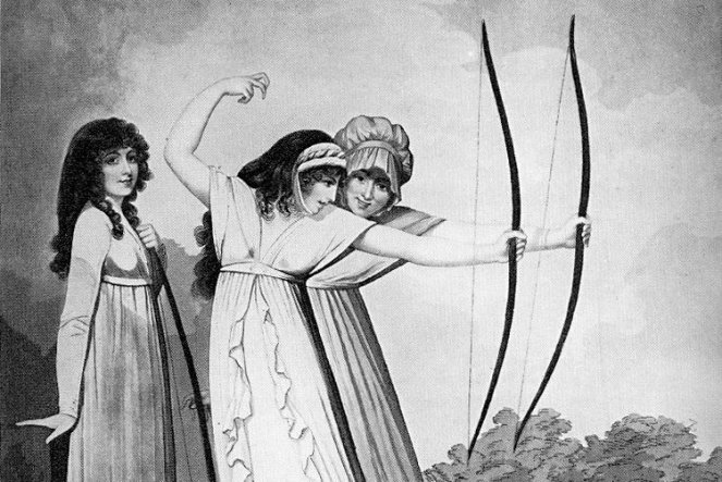 1799-pinup-print-archers-Adam-Buck-unbound-hair