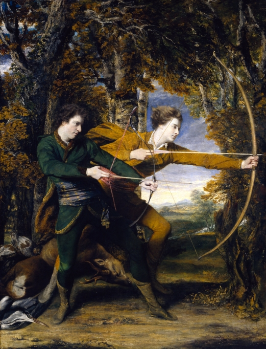 Sir_Joshua_Reynolds_-_Colonel_Acland_and_Lord_Sydney-_The_Archers_-_Google_Art_Project