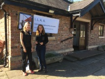 Anette and Catherine of the ILAA.